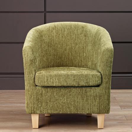 lime maurice chenille tub chair dunelm lounge pinterest. Black Bedroom Furniture Sets. Home Design Ideas