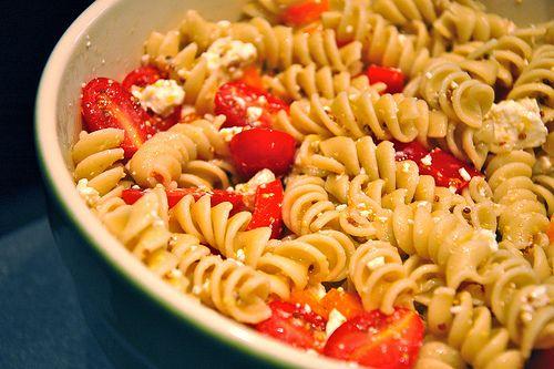 lemony pasta salad | food.recipes | Pinterest
