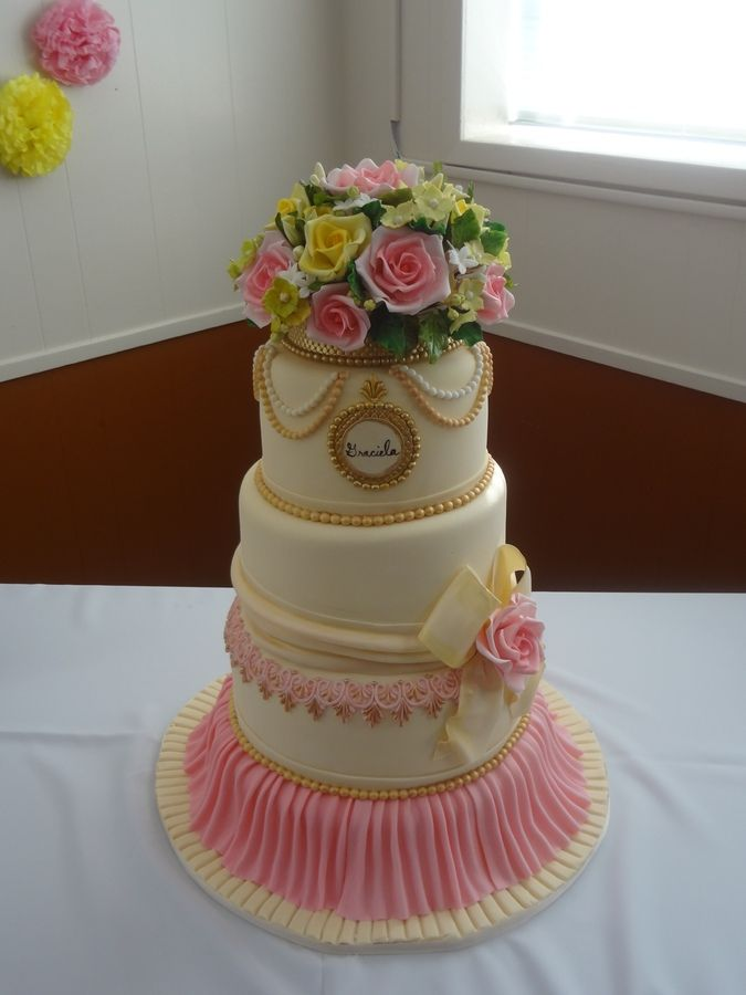 Mother in Law Birthday Cake  Cakes  Pinterest