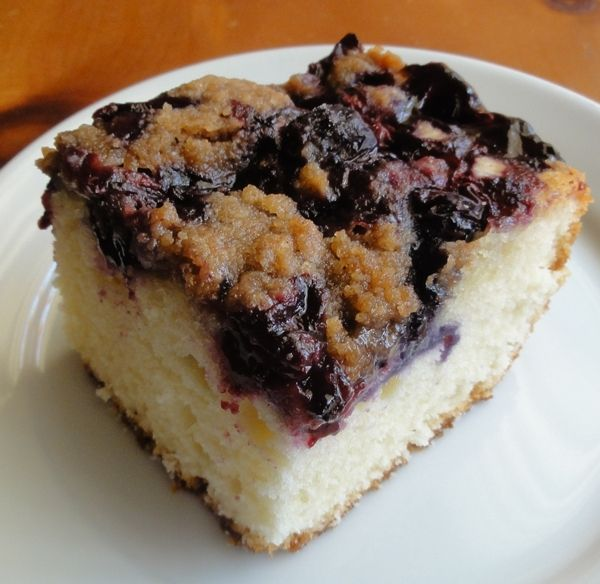 Blueberry Tea Cake Recipe — Dishmaps