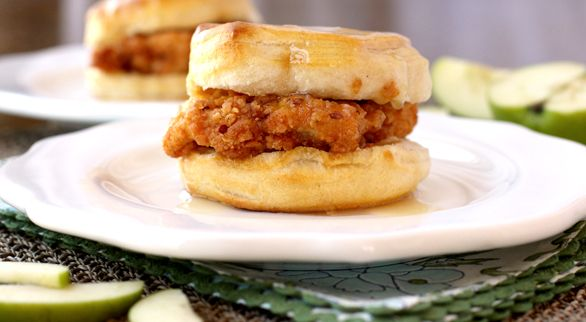 Spicy Southern Chicken Biscuits   Recipe