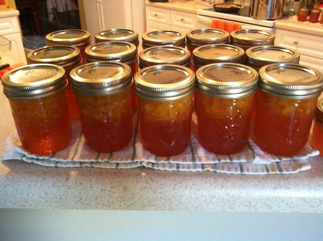 bonbons & biscotti: Bourbon Peach Jam | Recipes - Canning | Pinterest