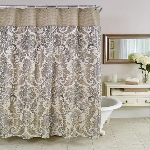 Elegant Shower Curtain Be Our Guest Pinterest