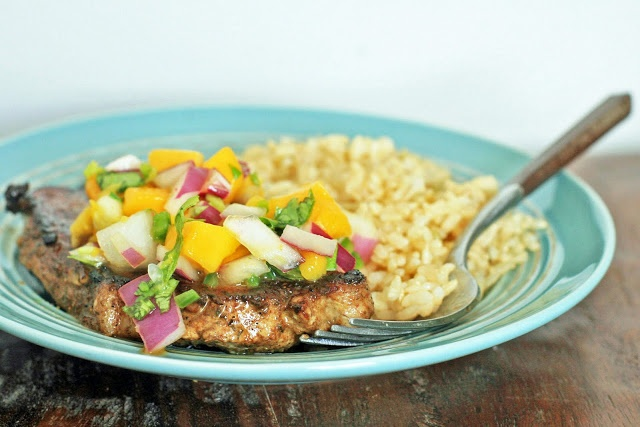 pan fried mango curry chicken steamy kitchen recipes easy pan fried ...