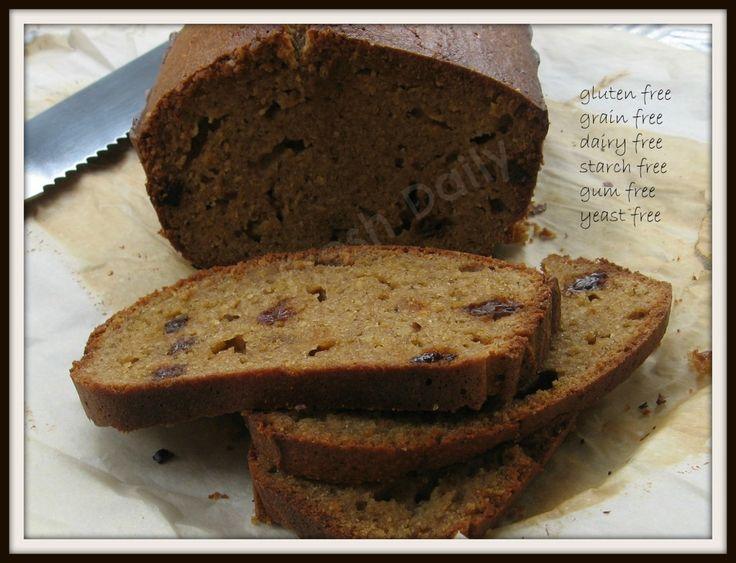 Cinnamon Raisin Bread | Gluten free/dairy free | Pinterest