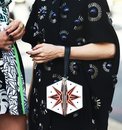 art deco @DVF purse