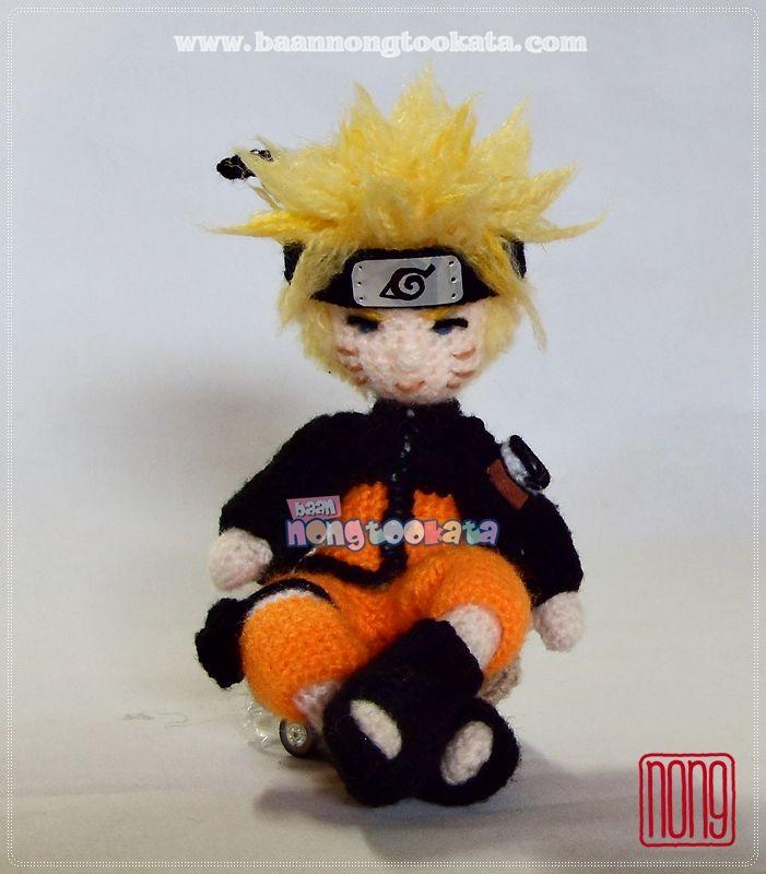 Amigurumi Naruto Pattern : Naruto Crochet Amigurumi Dolls Pinterest