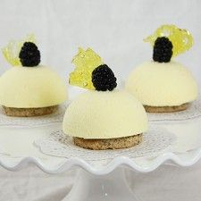 Honey-Lemon Semifreddo Cakes | 8O | Pinterest