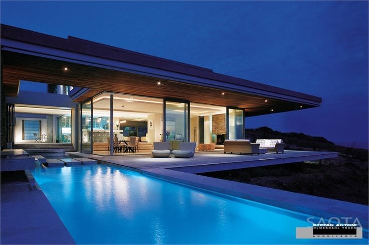 Cove 6, The Cove, Pezula Golf Estate, Knysna, 2005 http://bit.ly/xRRfGB #architecture #design #archilovers #swimmingpool