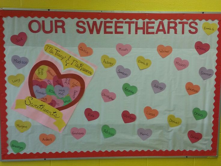 valentine's day classroom bulletin boards