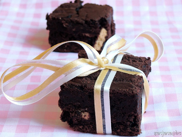 eggless/vegan brownies by KORasoi, via Flickr