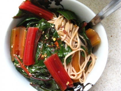 Tunisian Soup With Chard And Egg Noodles Recipes — Dishmaps