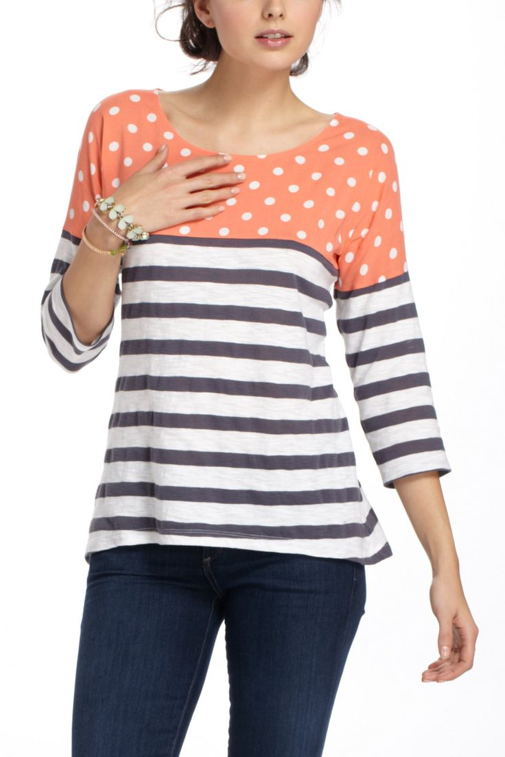discount designer handbags Split Stripes Pullover  Project Ideas