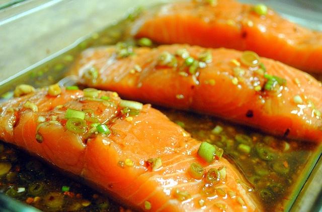 Firecracker Grilled Salmon http://crazyjamie.wordpress.com/2011/09/07 ...