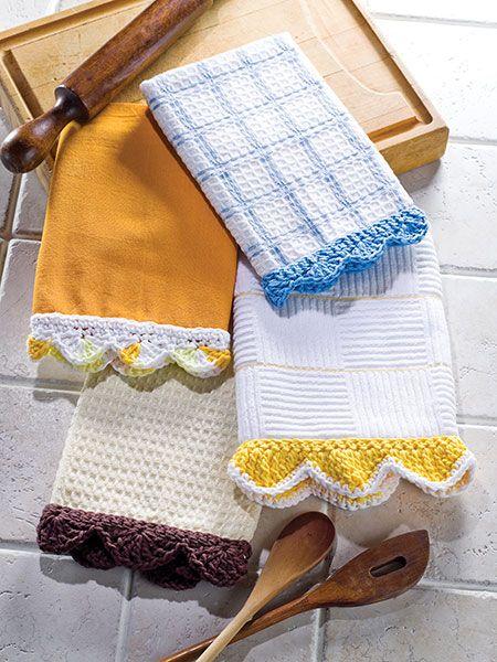 Free Pattern....Towel Edgings