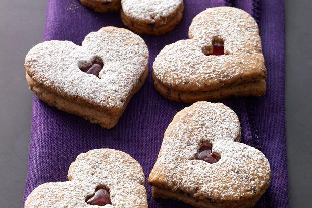 Linzer Heart #Cookies Recipe