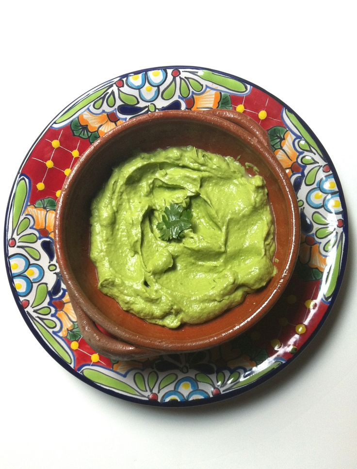 Columbian Guacamole: a spicy twist on traditional guacamole, pureed ...