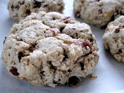 Date and Raisin Oat Biscuits (gluten free, vegan)