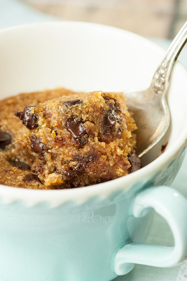 Chocolate Chip Mug Cookie — GF, Vegan - Lexie's Kitchen | Gluten-Free Dairy-Free Egg-Free -
