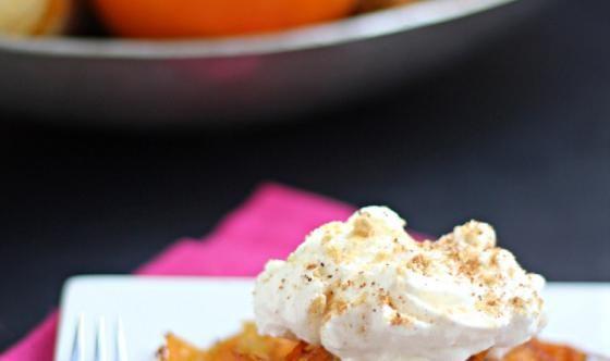 Pumpkin Pie-Stuffed Sweet Potato Latkes | Pumpkin | Pinterest