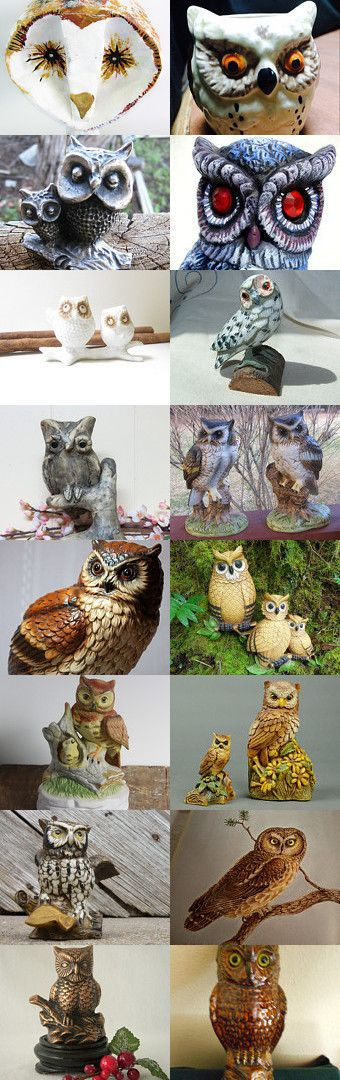 Owl always love Owls by Dorene on Etsy--Pinned with TreasuryPin.com