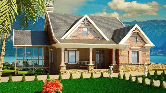Small southern cottage style house plans house plans for Small southern house plans