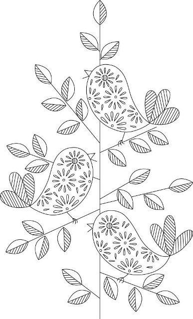 Рисунки цветов для вышивания гладью