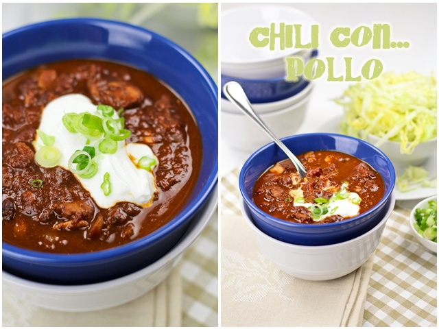 Chili Con Pollo | by Sonia! The Healthy Foodie (sodium needs to be cut ...