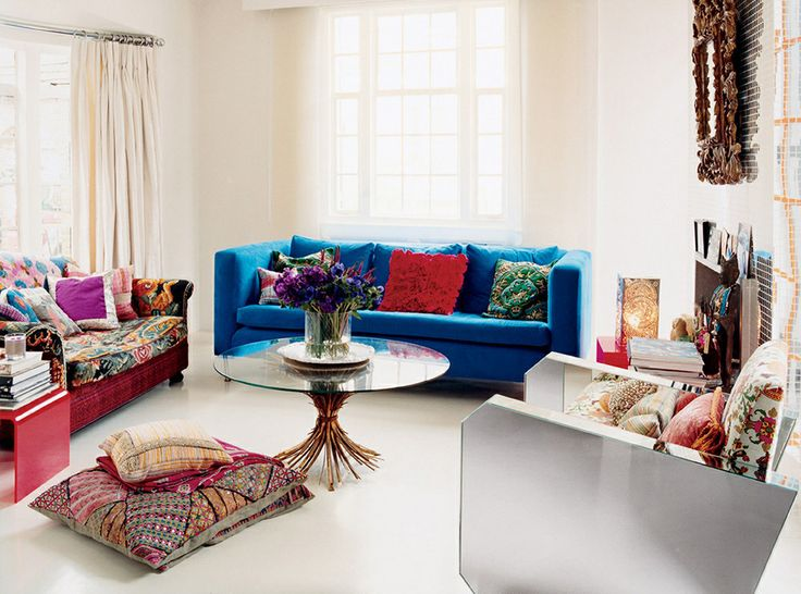 Decorating Ideas > Colorful Living Room  For The Home  Pinterest ~ 013607_Apartment Decorating Ideas Buzzfeed