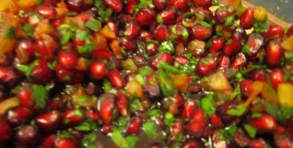 pomegranate_salsa | 4 Valerie Things | Pinterest