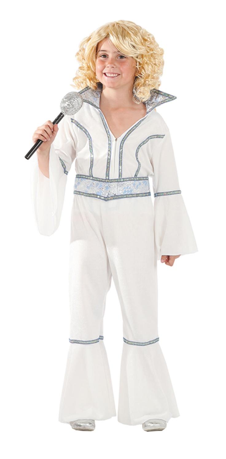 Disfraz de abba para ni a disfraces para ni as pinterest - Disfraces de angel para nina ...