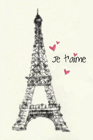 i adore you in french  love you in French