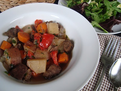 Slow-cooker beef and vegetable stew | galactosemia (dairy-free meals ...