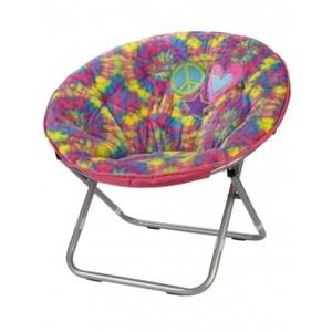 Saucer chair groovy tie dye n stuff pinterest
