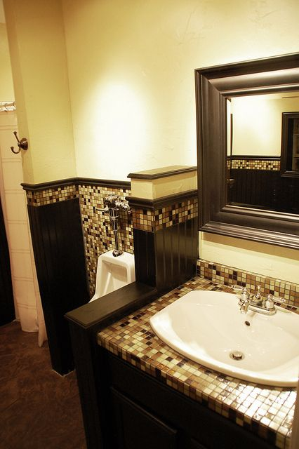 man cave bathroom style via diy diva diy for the home pinterest