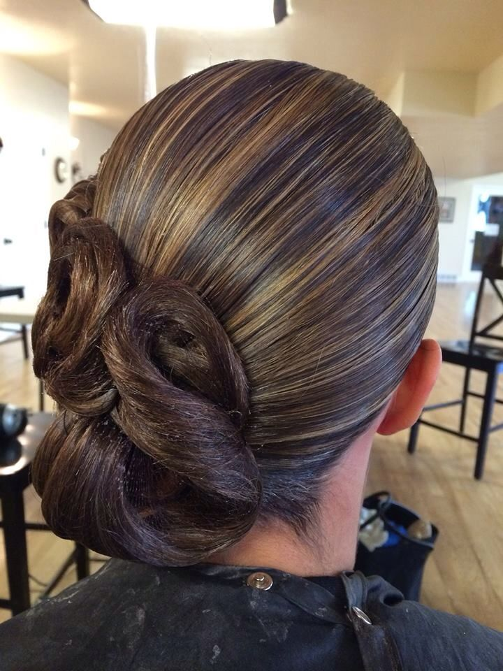 Medium Hairstyles For A Dance : Ideas about dance competition hair on