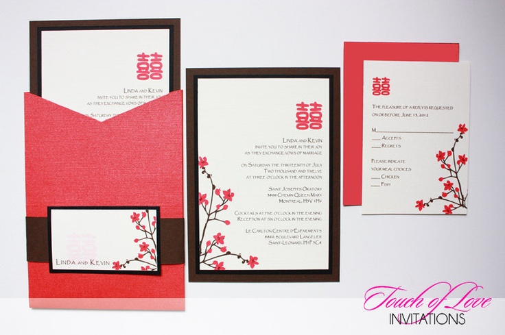 Asian Wedding Invitation