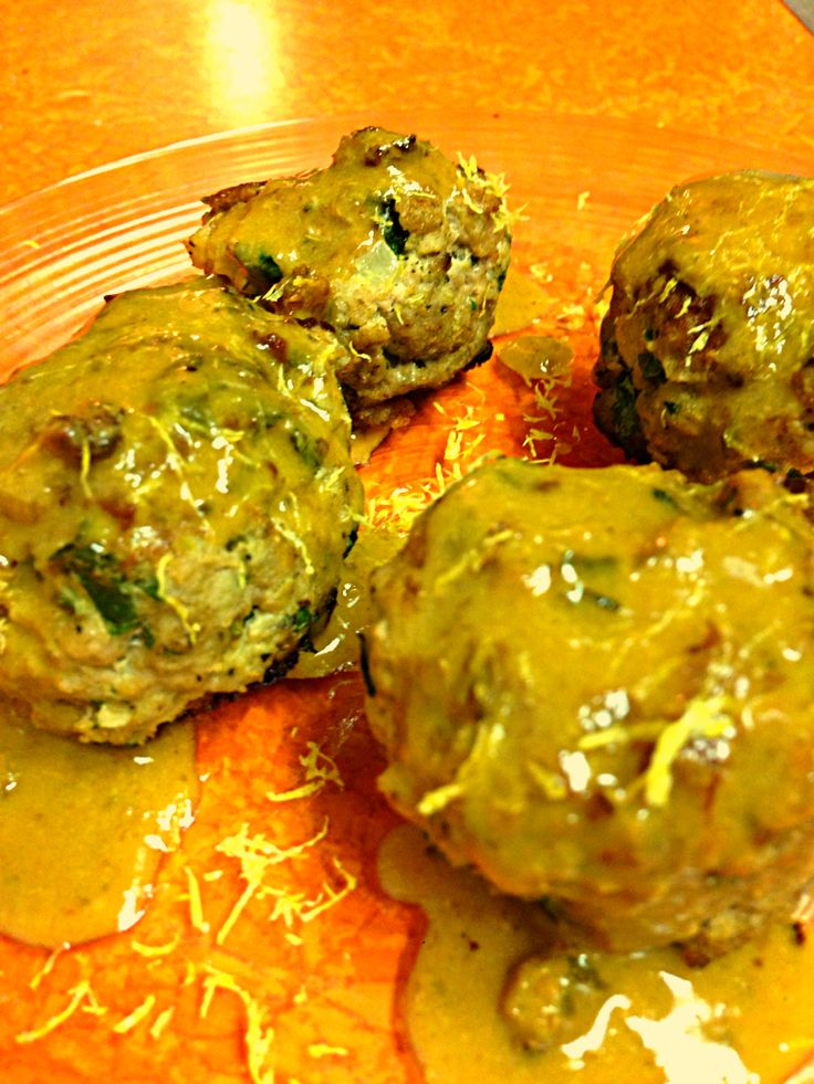 Herbed Turkey Meatballs — One If By Food | Favorite Recipes ...
