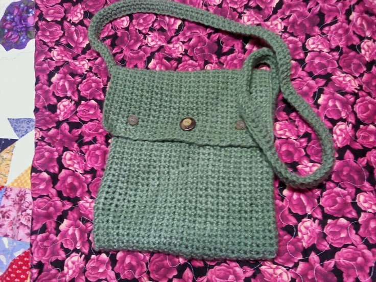 Crochet Bags Pinterest : Crochet bag My misc. Crochet Pinterest