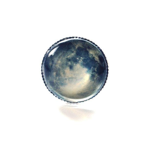 Moon Ring Jewelry Pinterest