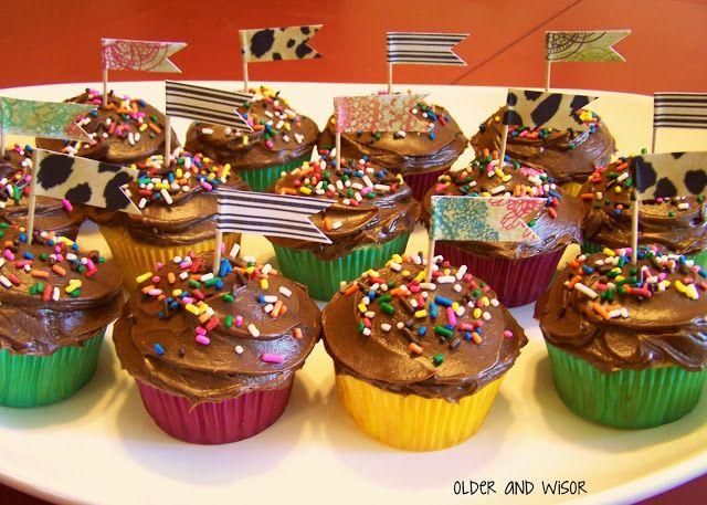Easy cupcake decorating ideas birthday amp party ideas pinterest
