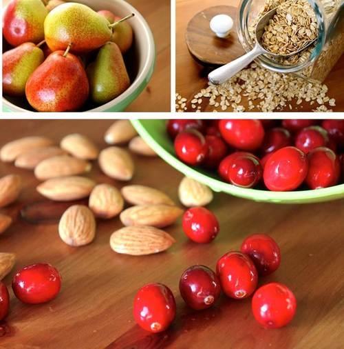 Vegan Apple Cranberry Oatmeal Bake Recipe — Dishmaps