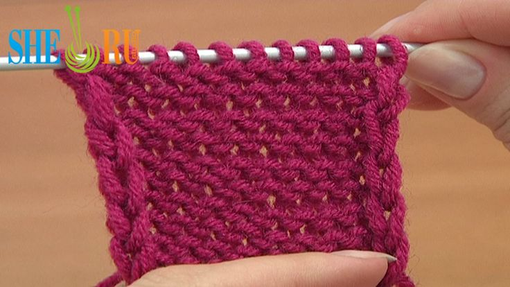 Knitting Stitches Reverse Stockinette : Pin by SHERU Knitting on Knitting Tutorials for Beginners Pinterest