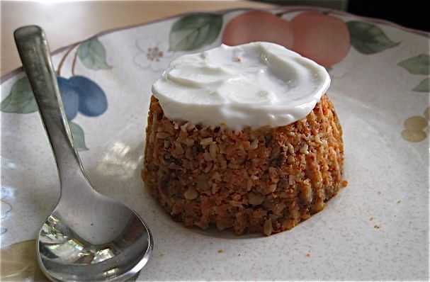 Raw carrot cake muffins: a different version of the raw, vegan carrot ...