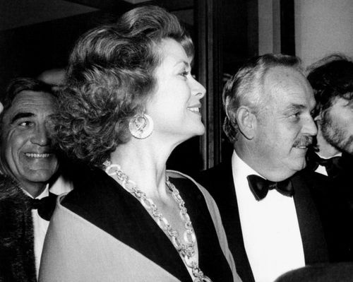 Grace Kelly with Her Husband Prince Rainier III of Monaco at an Event ...