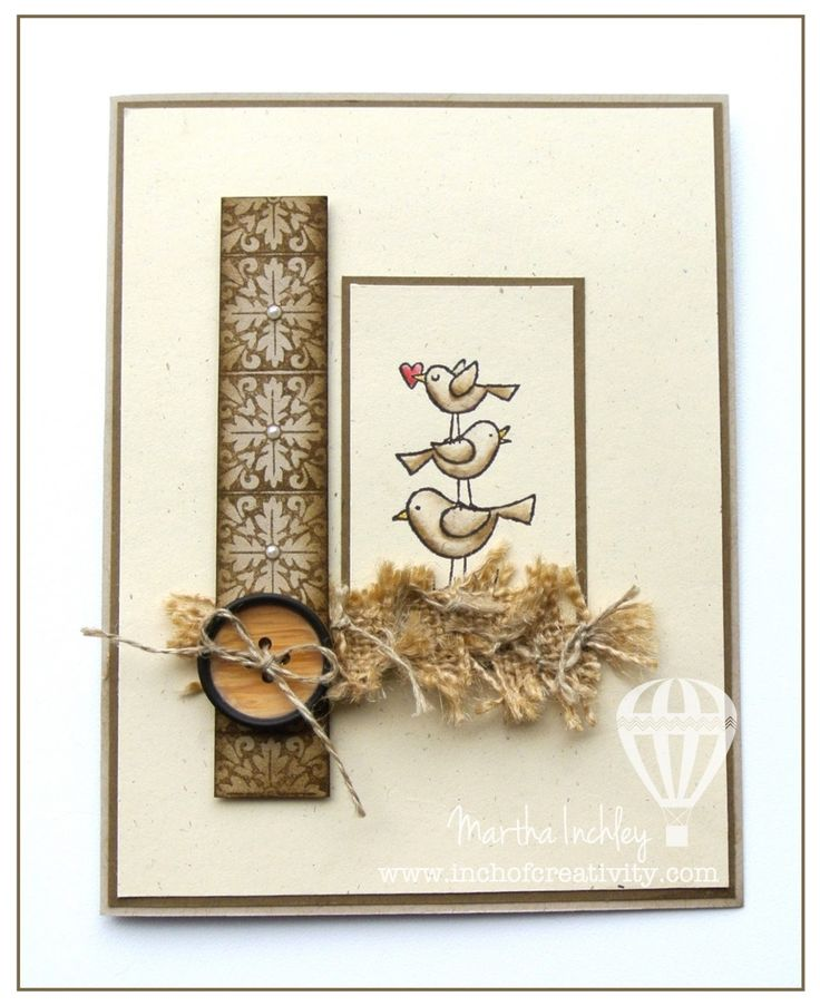 Inch of Creativity | Card Samples | Pinterest