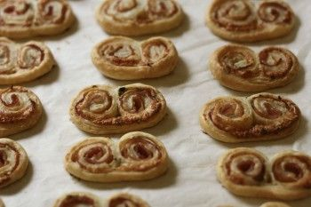 ham and cheese palmiers | Recipes | Pinterest
