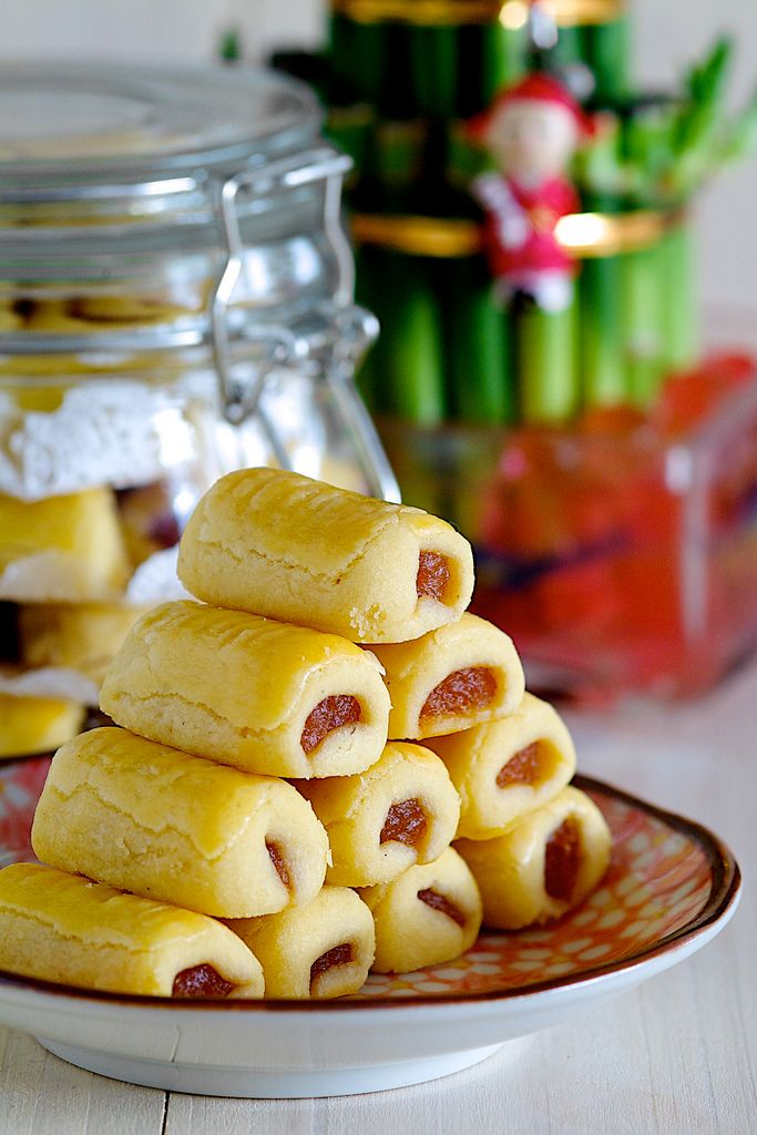 Chinese New Year Pineapple Tarts   Chinese cultural study   Pinterest