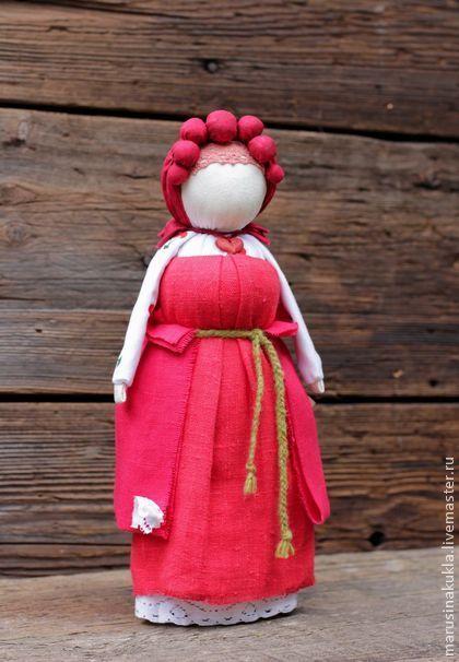 Кукла-оберег НА УДАЧНОЕ ЗАМУЖЕСТВО. Кукла для девушек и женщин любого возраста, желающих удачно выйти замуж. Куколка без рук - ч