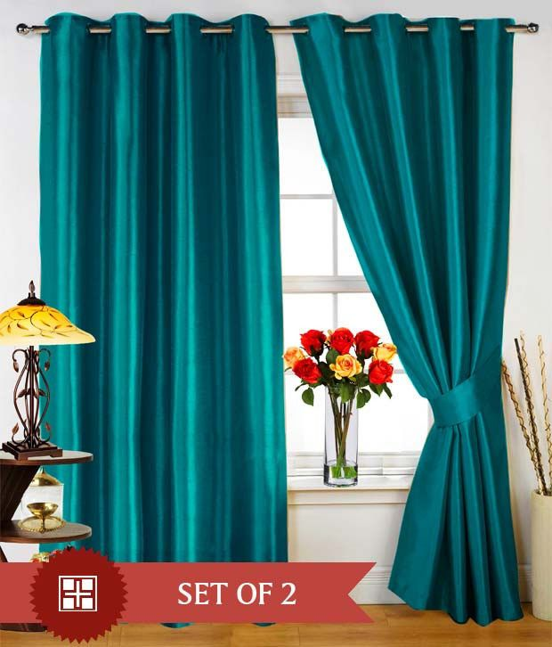 THERMAL 100% BLACKOUT TEAL TURQUOISE grommet FAUX SILK SUEDE window c ...